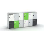 metal locker / combination / storage