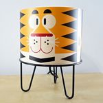 table lamp / contemporary / metal / paper