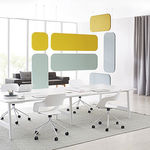 wall-mounted acoustic panel / for interior / fabric / decorative
