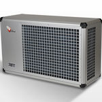 air/water heat pump / residential / for swimming pools / outdoor