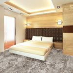 loop pile carpet / structured / polyamide / for hotel rooms