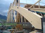 Prefab beam / glue-laminated wood / rectangular / arched STEPHAN  STEPHAN HOLZBAU GmbH