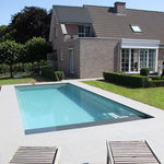 in-ground swimming pool / ceramic / one-piece / outdoor