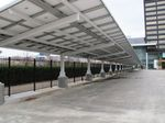 commercial carport (with integrated photovoltaic panels) Duo-Gard