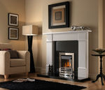 contemporary built-in fireplace (gas closed hearth) GROSVENOR GROVE  Superior Fires