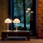 Design polycarbonate table lamp TATOU TI FLOS