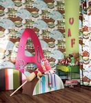 Kids pattern wallpaper (unisex) LILLY SAND BERG