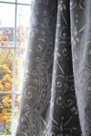Linen curtain fabric LIMITED EDITION: TP005-TIZA YBARRA & SERRET