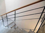 Metal railing METRACRILATO HIERRO Escalkit