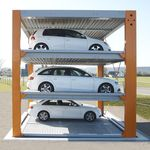 Parking system with platforms and lifts U1 / U2 / U3 KLAUS Multiparking GmbH