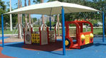 shade structure for playground SQUARE & RECTANGLES Shade Systems