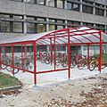 cycle and motorcycle shelter for public spaces - GRAND LIEU