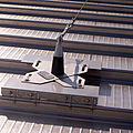 green roof fastening system / fall-protection anchor - HOLD LINE