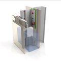 metal back-frame / for facade cladding - NV3