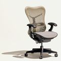 office chair / contemporary / mesh / with armrest - MIRRA by Studio 7.5