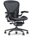 office chair / contemporary / mesh / with casters - AERON by Bill Stumpf & Don Chadwick