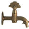drinking fountain mixer tap / brass / outdoor / 1-hole