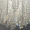 Contemporary chandelier / crystal / stainless steel / LED BURJ Manooi