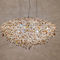Contemporary chandelier / crystal / halogen / handmade ICEBERG Manooi