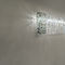 Contemporary chandelier / crystal / halogen / handmade SILK W Manooi