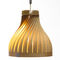 Pendant lamp / contemporary / wooden / handmade VOLUPTE 40 LairiaL