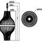 Pendant lamp / contemporary / wooden / handmade BULM 85 LairiaL