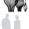 Pendant lamp / original design / wooden / handmade BULM 45 LairiaL