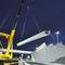 Prestressed concrete beam / rectangular concast