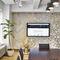 Contemporary wallpaper / patterned / metallic / handmade WABI CLOUD CALICO WALLPAPER
