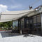 folding-arm awning / manual / patio / commercial