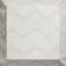 curtain fabric / geometric pattern / polyester