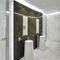 composite flooring / residential / tile / silk