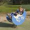 Plastic spring rocker / HDPE / nature / 1-seat SOLO+ : THE MOON / JIN-0402  HUSSON INTERNATIONAL