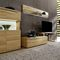 modular shelf / contemporary / beech / natural oak