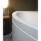 free-standing bathtub / acrylic / hydromassage