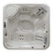 Above-ground hot tub / square / 4-seater / outdoor 215 GLASS 1989