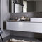Wall-hung washbasin cabinet / wooden / contemporary / lacquered VANITY Arclinea