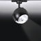 LED track light / round / linear / metal