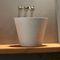 Countertop washbasin / round / concrete / contemporary CIRCUM 3831 Urbi et Orbi