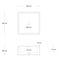 Countertop washbasin / rectangular / concrete / contemporary IMMISSIO 40 Urbi et Orbi