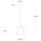 Pendant lamp / contemporary / concrete  CALIX14 Urbi et Orbi