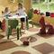 vinyl flooring / for public buildings / for healthcare facilities / tile