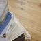engineered parquet floor / glued / oak / oiled