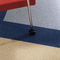 vinyl flooring / commercial / for healthcare facilities / roll