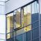 casement window / aluminum / double-glazed / acoustic
