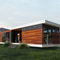 prefab micro-house / contemporary / wooden / single-story