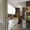 contemporary kitchen / natural stone / island / handleless