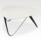 contemporary coffee table / MDF / lacquered MDF / triangular