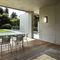 contemporary wall light / PMMA / LED / rectangular