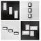 Recessed ceiling light fixture / fluorescent / LED / rectangular LOGIC by Serge & Robert Cornelissen Esse-ci